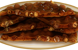 Decadent Dark Chocolate Peanut Brittle