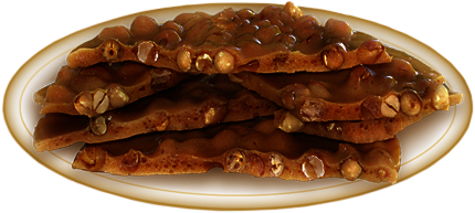 Decadent Dark Chocolate Peanut Brittle (3oz)