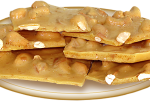 Coconut Cashew Brittle (3oz)