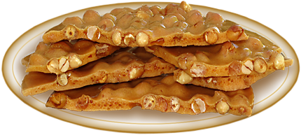 Sugar Free Peanut Brittle (3 oz)